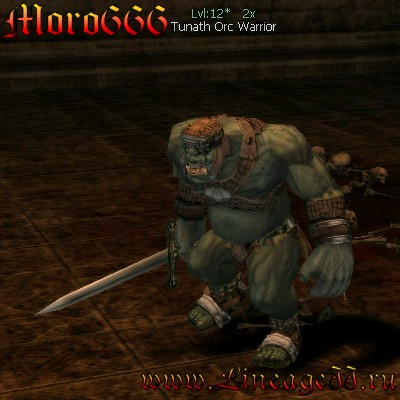 Tunath Orc Warrior