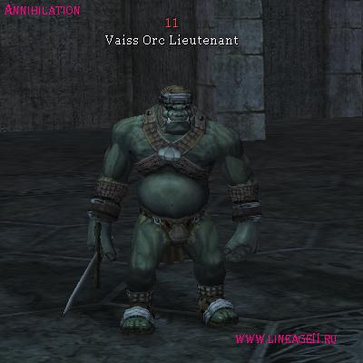 Vaiss Orc Warrior Leader