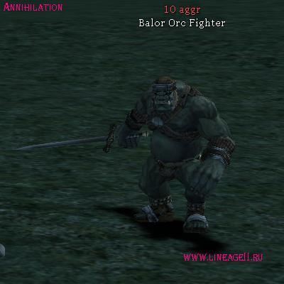 Balor Orc Fighter